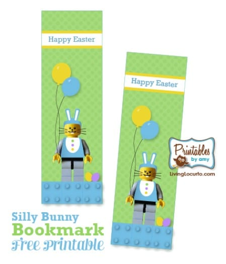 Easter Bookmark Printables - 40 Crafty Easter Printables for Perfect Holiday Projects