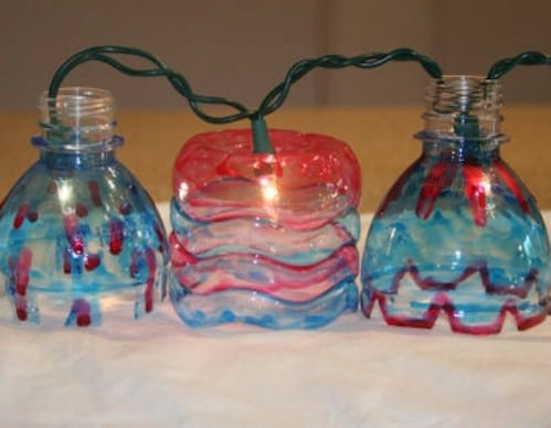 Patio Lights - 20 Fun and Creative Crafts with Plastic Soda Bottles