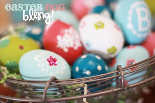 Bling Easter Eggs - 80 Creative and Fun Easter Egg Decorating and Craft Ideas