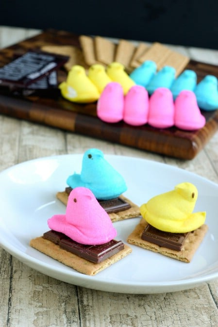 Peeps S'mores - 100 Easy and Delicious Easter Treats and Desserts