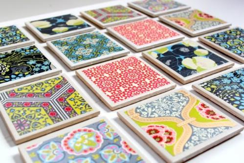 Tile Coaster Set