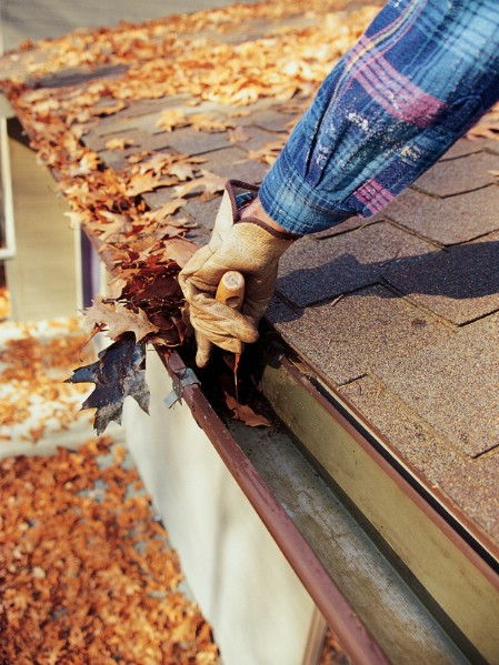 Clean the Gutters - 150 Remarkable Projects and Ideas to Improve Your Home's Curb Appeal