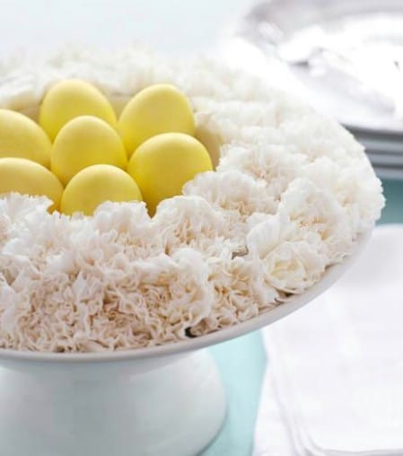 Eggs' Nests - 40 Beautiful DIY Easter Centerpieces to Dress Up Your Dinner Table