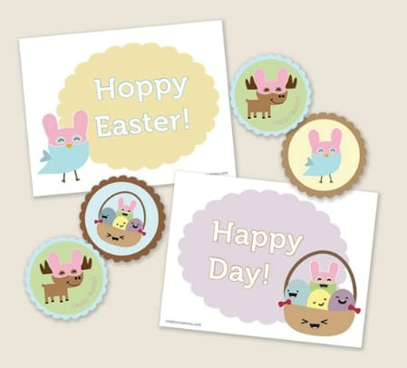 Kawaii Easter Kit Printables - 40 Crafty Easter Printables for Perfect Holiday Projects