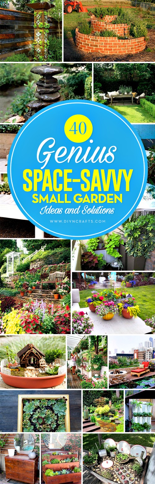 Having A Small Yard Or Outdoor Living Space Does Not Mean That You Canu0027t  Have A Great Garden. There Are A Number Of Ways That You Can Turn Your  Small Space ...