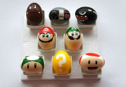 Mario Easter Eggs - 80 Creative and Fun Easter Egg Decorating and Craft Ideas