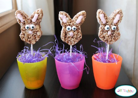 Easter Bunny Pops - 100 Easy and Delicious Easter Treats and Desserts