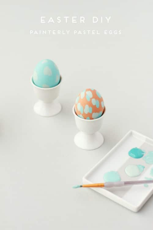 Painterly Easter Eggs - 80 Creative and Fun Easter Egg Decorating and Craft Ideas