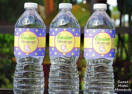 Water Bottle Label Printables - 40 Crafty Easter Printables for Perfect Holiday Projects