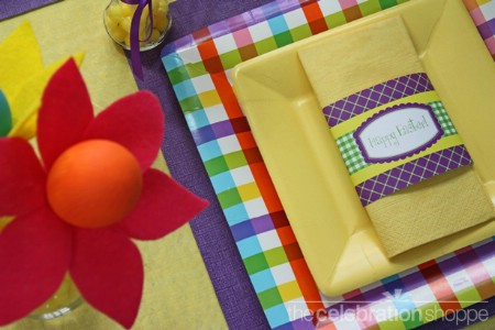 Table Setting Easter Printables - 40 Crafty Easter Printables for Perfect Holiday Projects