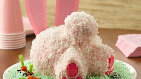 Easter Bunny Butt Cake - 100 Easy and Delicious Easter Treats and Desserts
