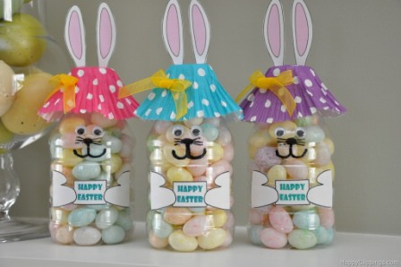 Easter Bunny Bottle Printable - 40 Crafty Easter Printables for Perfect Holiday Projects