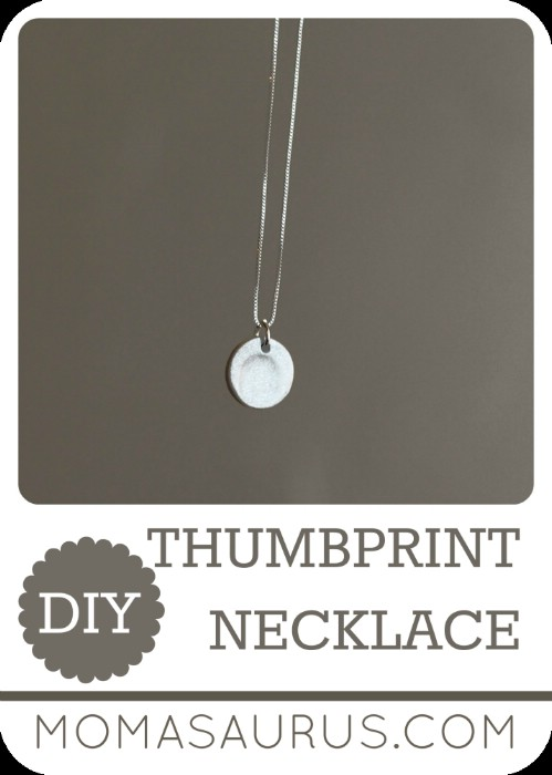 Thumbprint Necklace