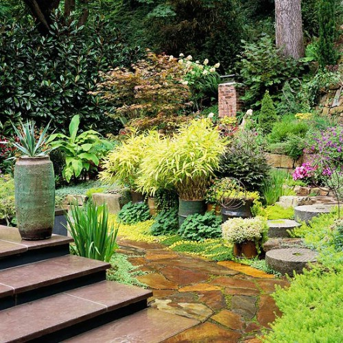 Shade Gardens - 40 Genius Space-Savvy Small Garden Ideas and Solutions