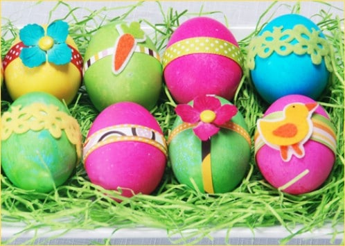 Crafty Easter Eggs - 80 Creative and Fun Easter Egg Decorating and Craft Ideas