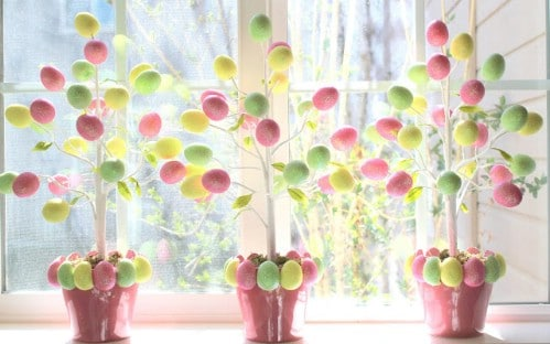 Egg Trees - 80 Fabulous Easter Decorations You Can Make Yourself