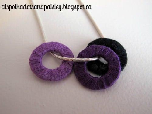 Threaded Washer Pendant