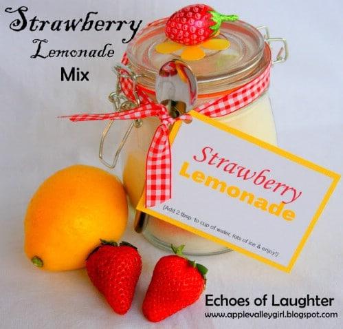 Strawberry Lemonade Mix