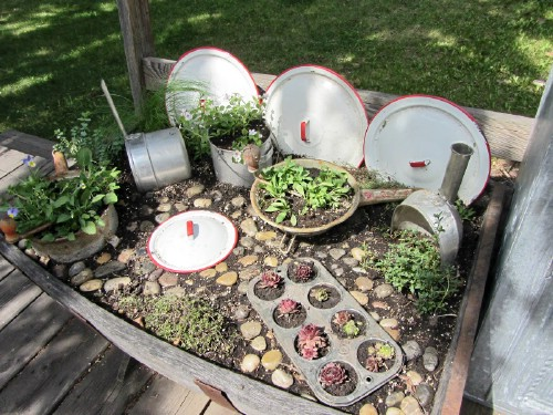 Kitchen Fairy Garden - 40 Genius Space-Savvy Small Garden Ideas and Solutions