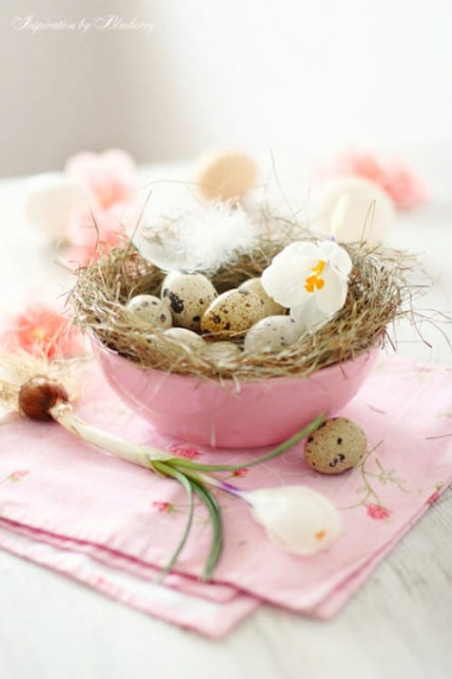 Robin's Nest - 80 Fabulous Easter Decorations You Can Make Yourself