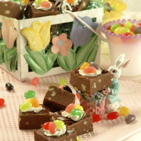 Toll House Easter Basket Fudge - 100 Easy and Delicious Easter Treats and Desserts
