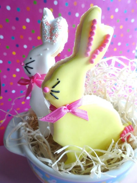Easter Bunny Cookies - 100 Easy and Delicious Easter Treats and Desserts