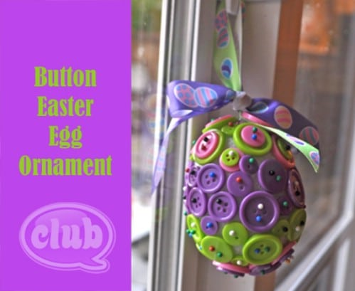 Button Easter Eggs - 80 Fabulous Easter Decorations You Can Make Yourself