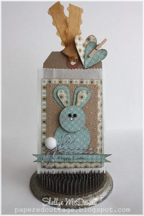 Happy Easter Tags - 80 Fabulous Easter Decorations You Can Make Yourself
