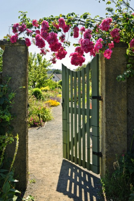 Build A Garden Gate - 150 Remarkable Projects and Ideas to Improve Your Home's Curb Appeal