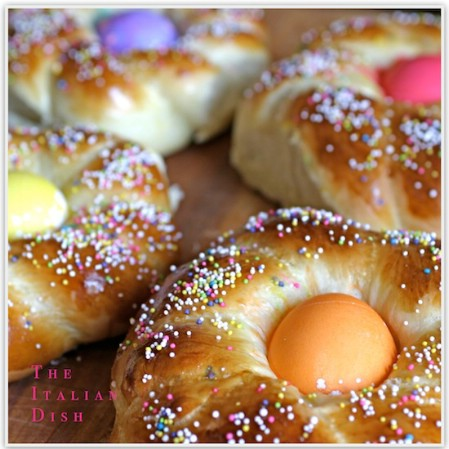 Traditional Italian Easter Bread - 100 Easy and Delicious Easter Treats and Desserts