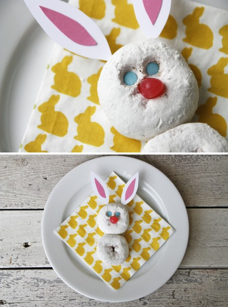 Donut Easter Bunny - 100 Easy and Delicious Easter Treats and Desserts