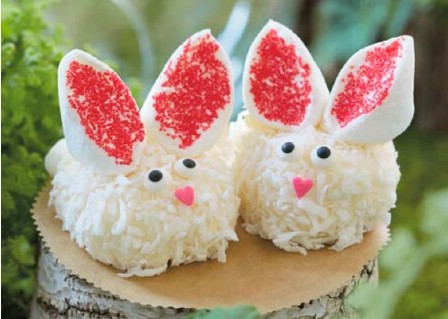 Cheesecake Bunnies - 100 Easy and Delicious Easter Treats and Desserts
