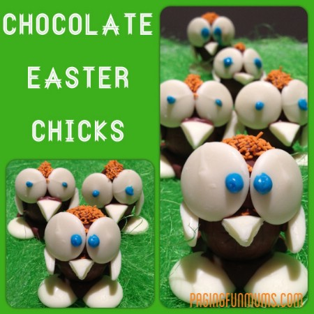 Chocolate Easter Chicks - 100 Easy and Delicious Easter Treats and Desserts