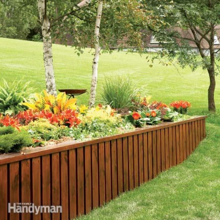 Build A Retaining Wall - 150 Remarkable Projects and Ideas to Improve Your Home's Curb Appeal