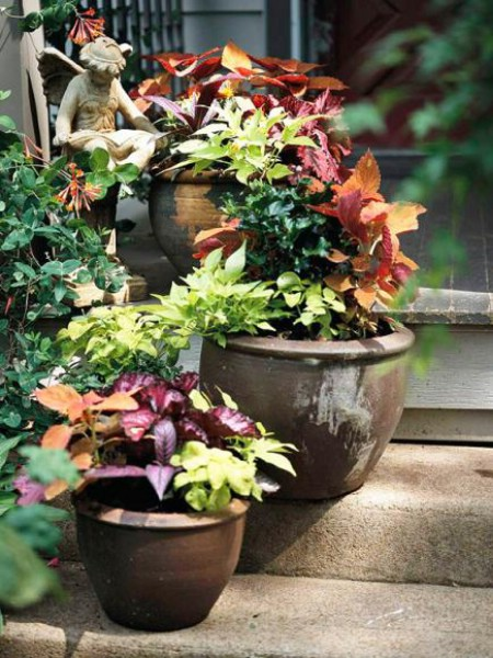 Stair-Step Your Plants - 150 Remarkable Projects and Ideas to Improve Your Home's Curb Appeal