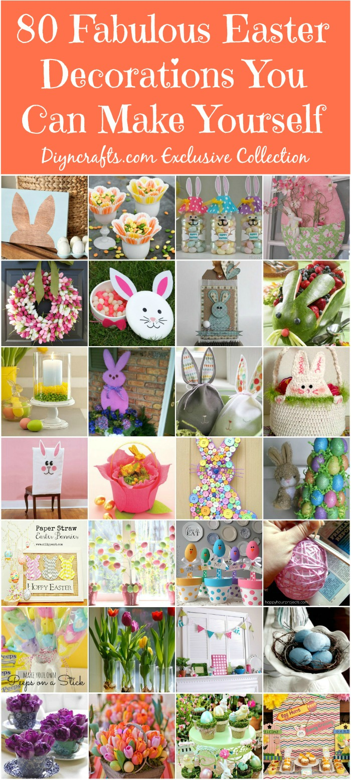 105 DIY Easter Decorations You Can Make Yourself - DIY & Crafts
