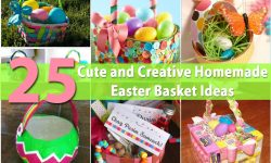 36 Cute and Creative Homemade Easter Basket Ideas