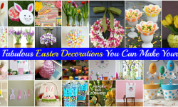 105 DIY Easter Decorations You Can Make Yourself