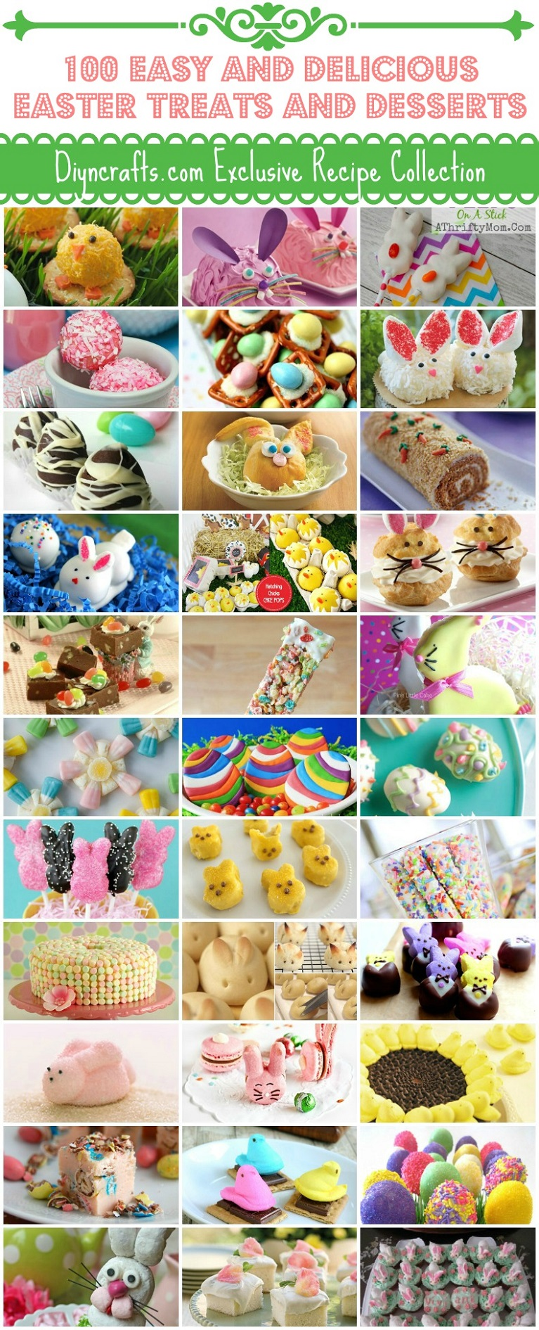 100 Easy And Delicious Easter Treats And Desserts Diy Crafts