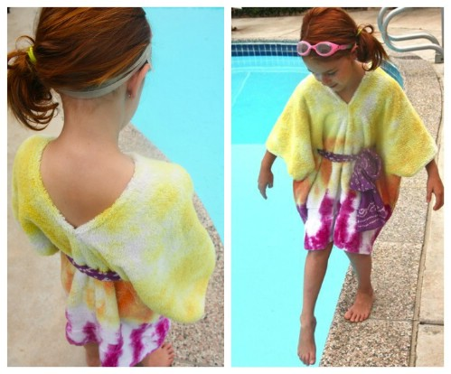 Tie Dyed Caftan Cover-Up