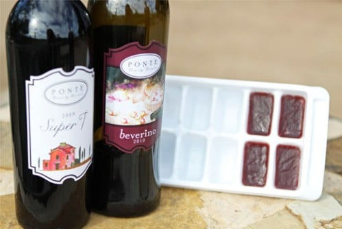 Make Wine Cubes