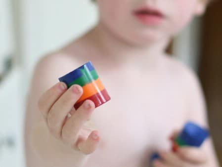 Make New Crayons from Broken Ones