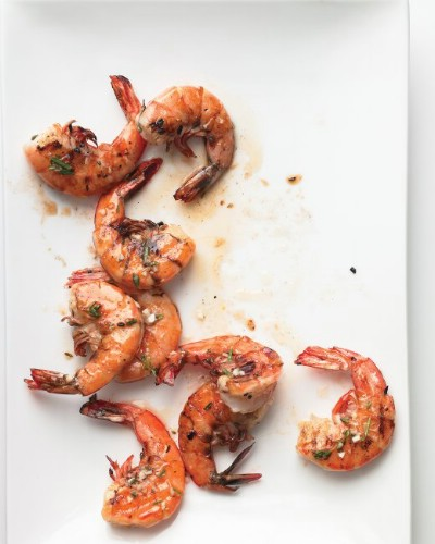 Lemon Herb Grilled Shrimp