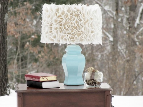Anthropologie Inspired Ruffled Lampshade