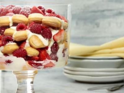 Lemon Tiramisu Trifle
