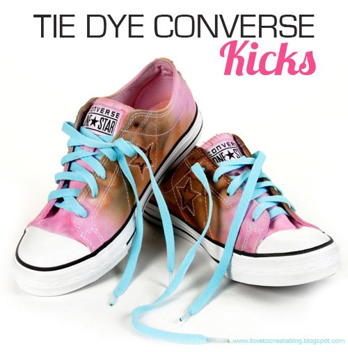 Tie Dyed Converse