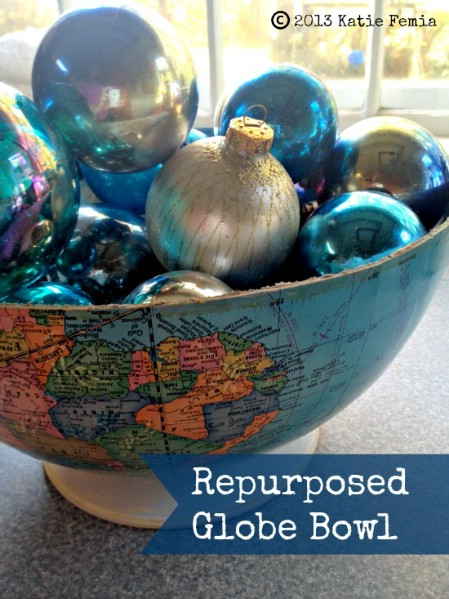 Make A Potpourri Bowl From a Broken Globe
