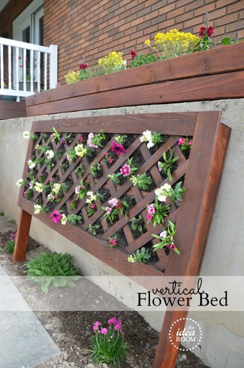 Vertical Flower Beds