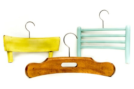 Make Cool Hangers From Broken Chairs