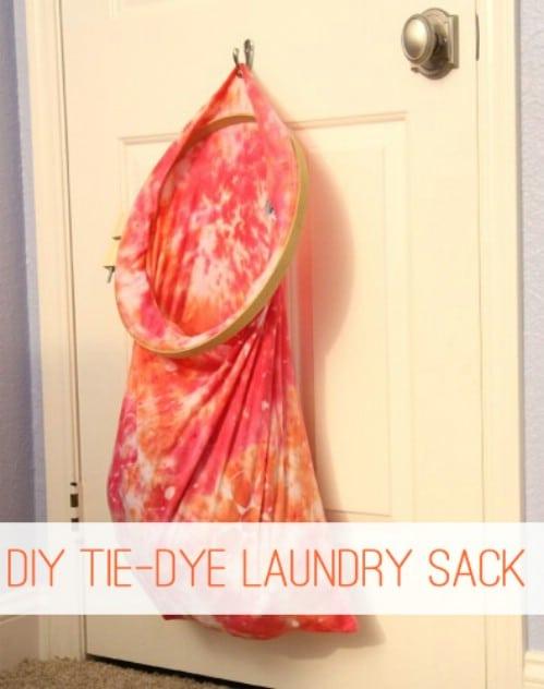 Tie Dye Laundry Sack